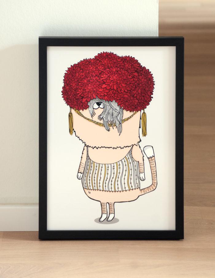A+D_CatSequence_FlowerheadCat_Illustration_01
